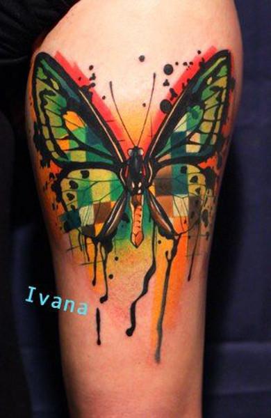 šta Znači Leptir Tetovaža Butterfly Tattoo