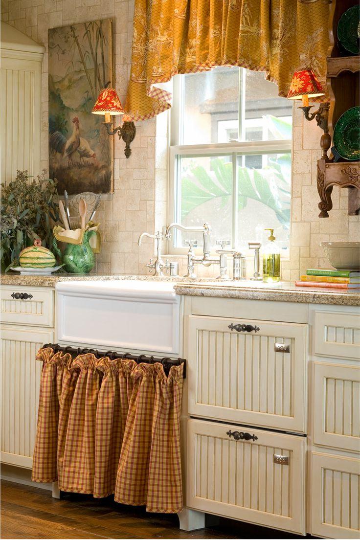 прованс стиль кухонные фото шторы