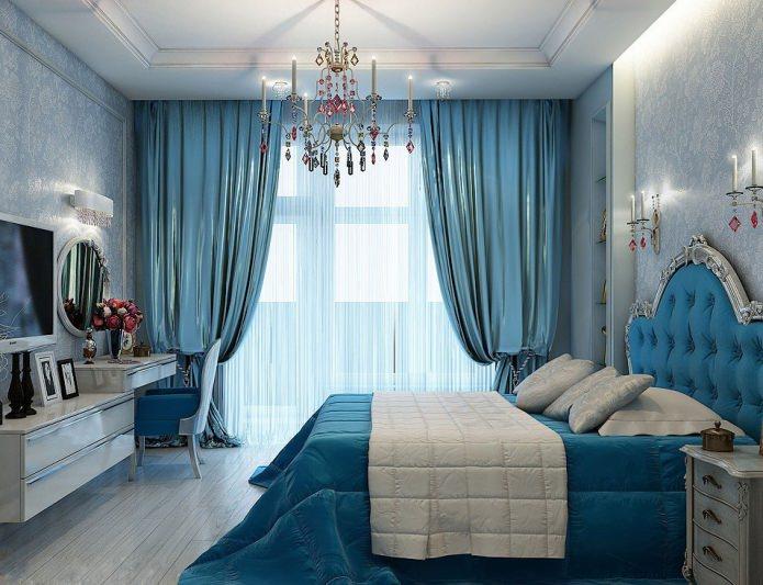 Et soveværelse til et ungt par: romantik og komfort. Ungdomsværelse ...