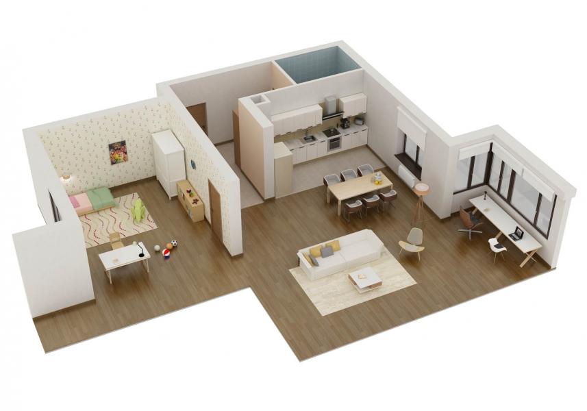 Основные принципы дизайна квартир
