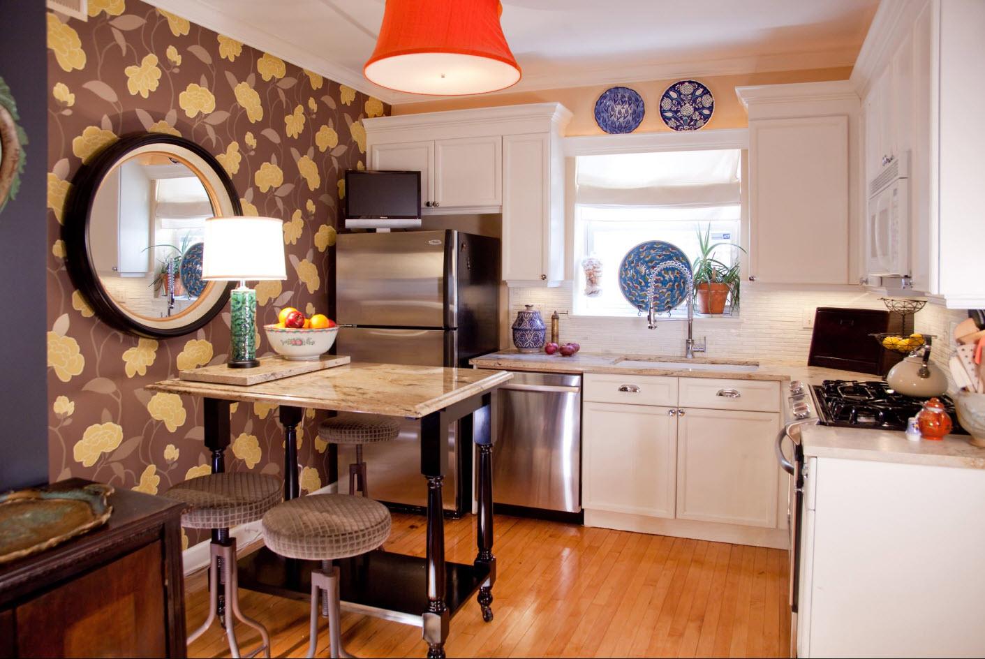 Как сделать уютную кухню своими руками недорого интерьер