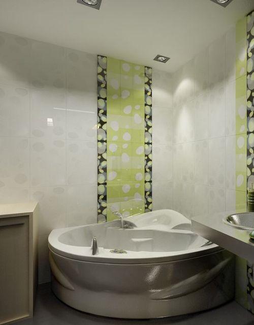 Corner bathrooms in the interior: photo ideas of the arrangement