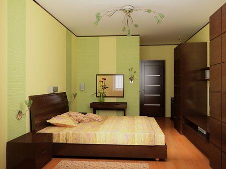 Options hálószoba, egy kis szobában. Stretch mennyezetek egy kis ...