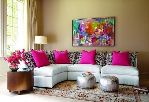 Как выбрать картину для интерьера над диваном фото