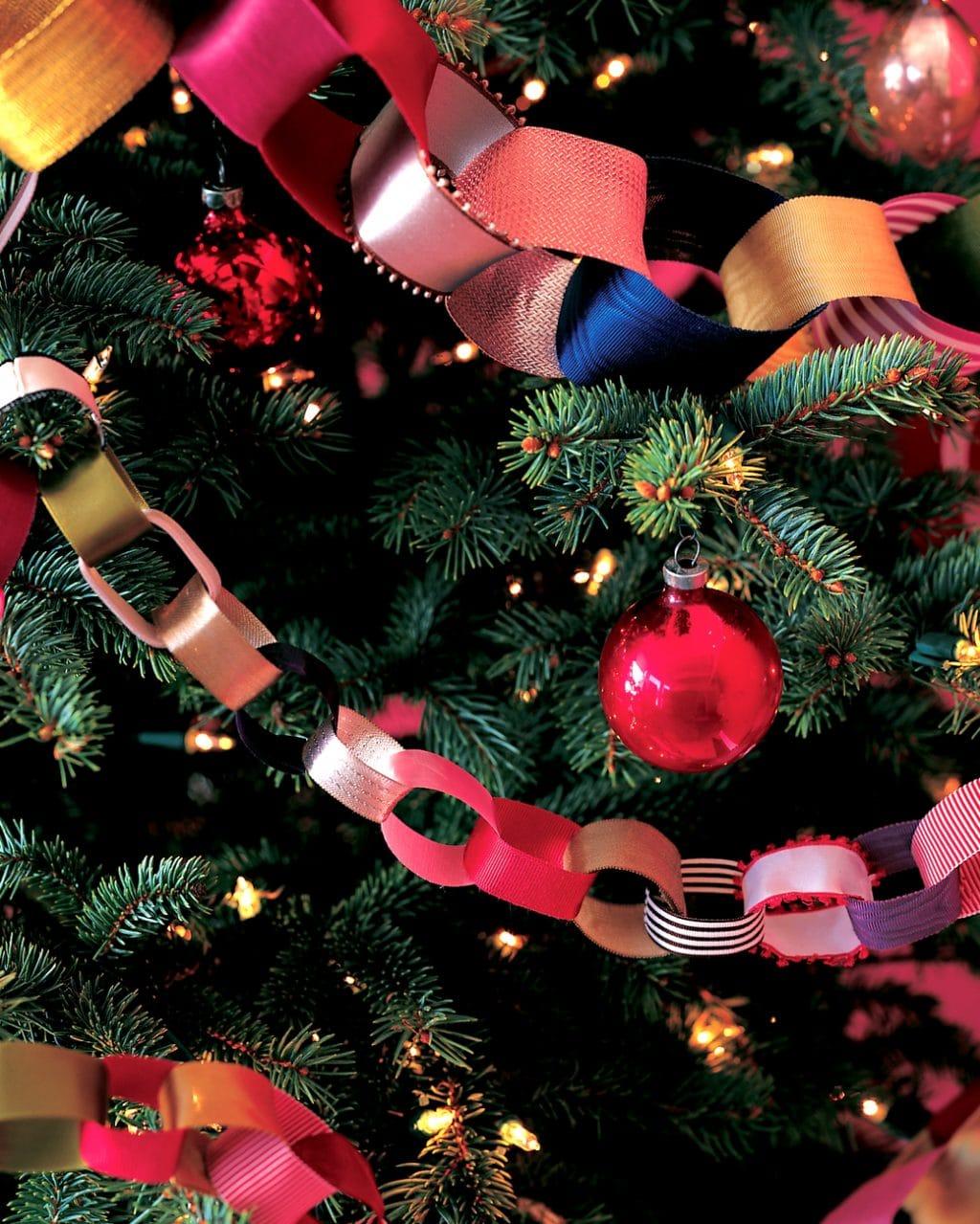 Сообщение цепочки для нового года