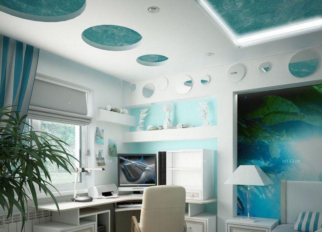 Дизайн потолка для комнаты девочки подростка