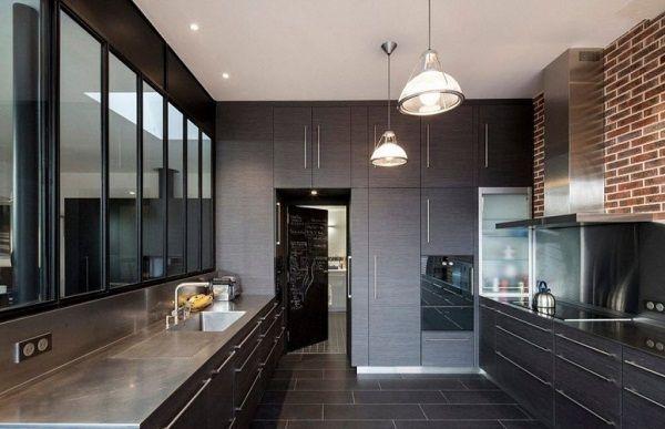 Как сделать освещение на кухне - 3 правила. Расположение светильников на потолке кухни.