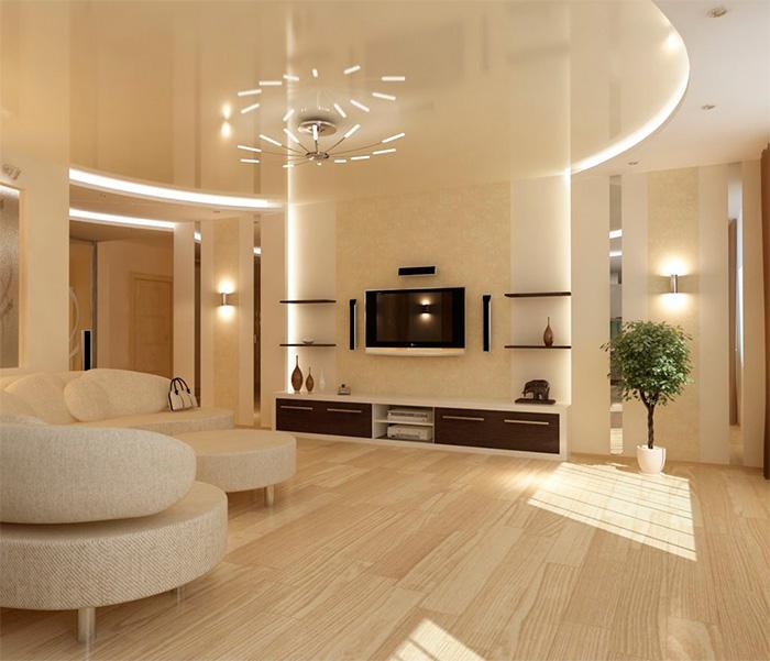 Designløsninger til stuen i Khrusjtjov. Udformningen af stuen i ...