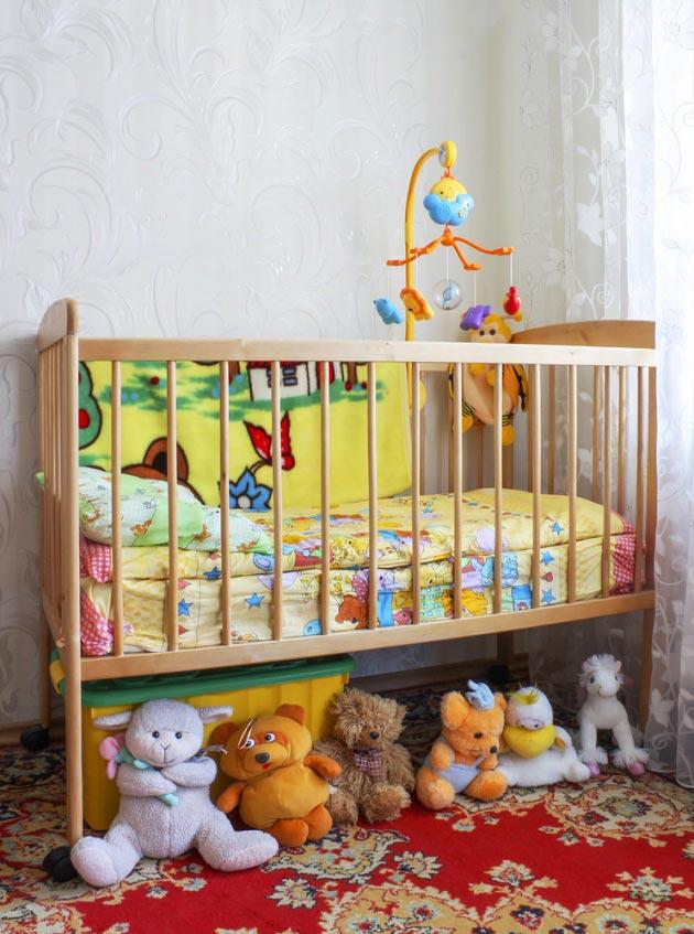 Фото украшений на детскую кроватку 18