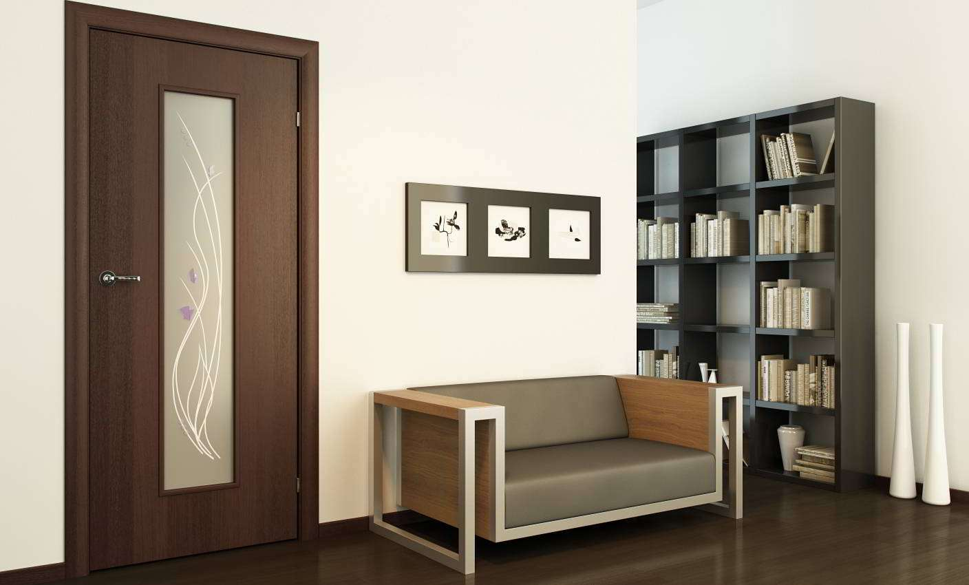 Interior Of Room In Wenge Color