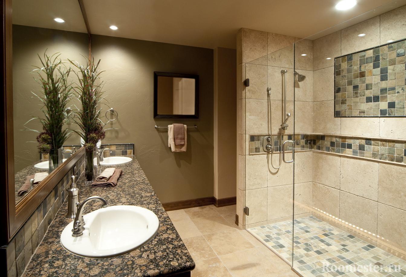 ванных кабин в фото душевых интерьер комнатах