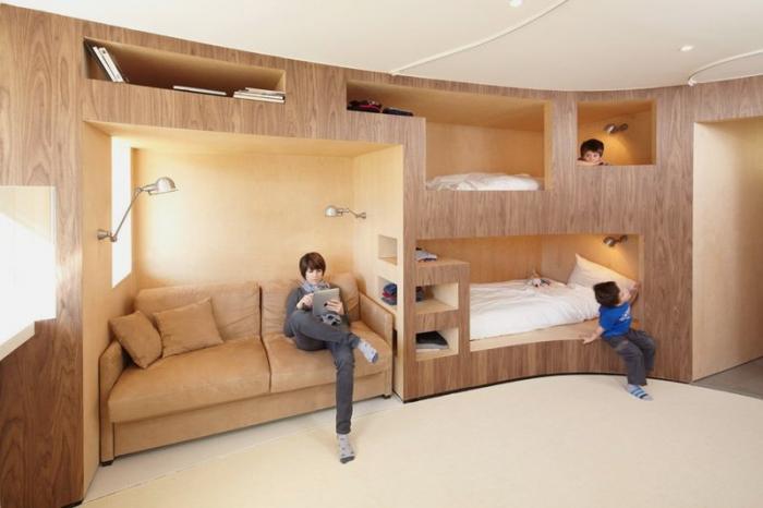 Как разместиться семье с двумя детьми в однокомнатной квартире в 44 51