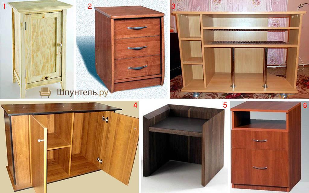 Шкафчики для стола своими руками