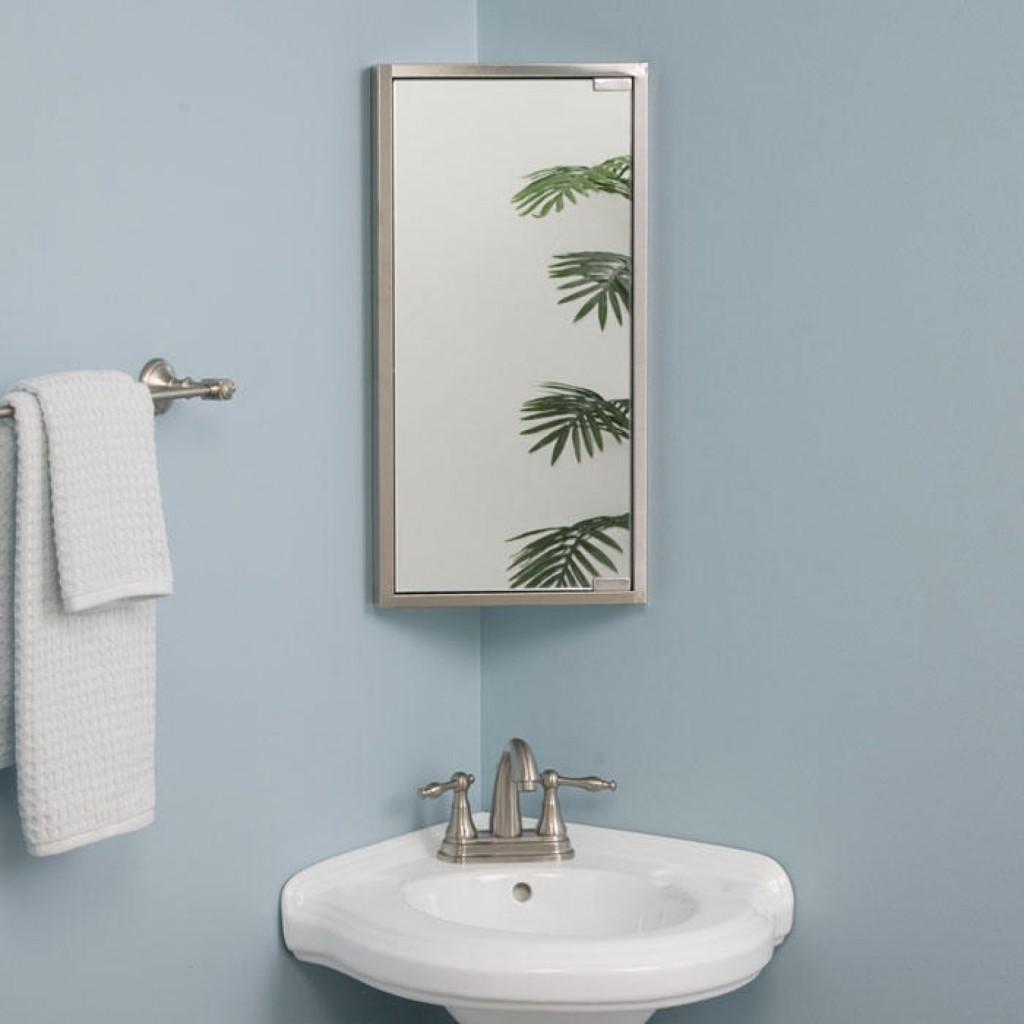 Corner Bathrooms In The Interior Photo Arrangement Ideas