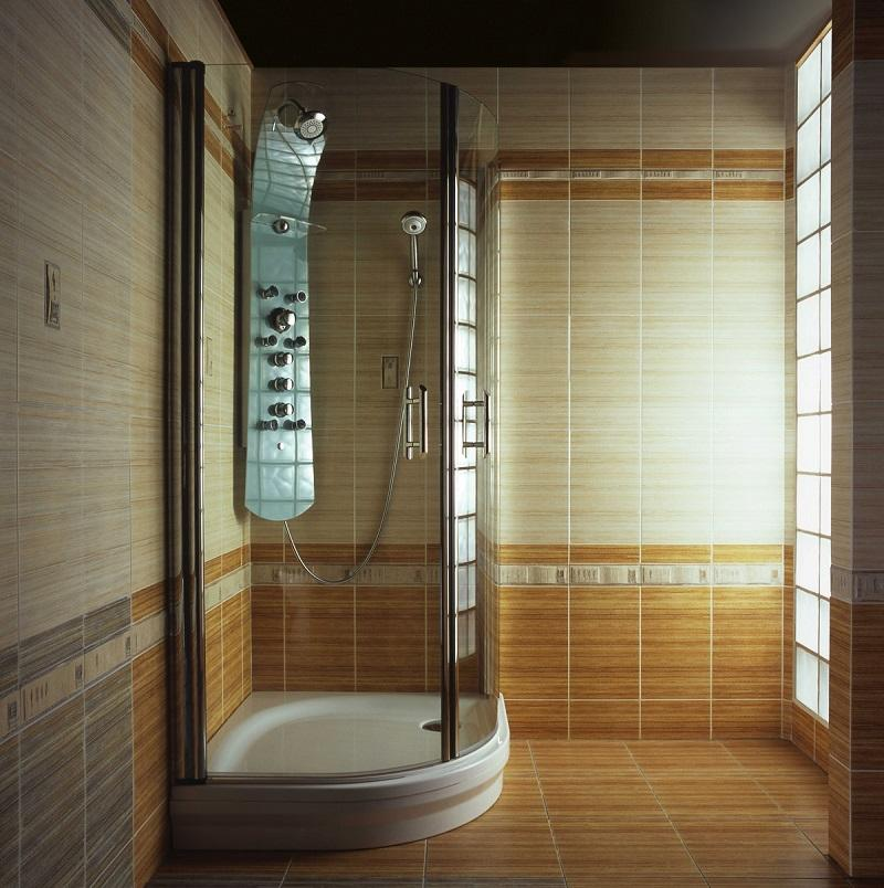 Make a draft shower cubicle. Shower without buying a shower in the ...